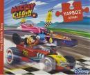 Disney Mickey ve Çılgın Yarışçılar - Yapboz Kitabı