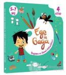 Ege ile Gaga - Boyama ve Sanat Etkinlikleri (4 Kitap Takım)