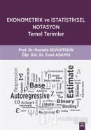Ekonometrik ve İstatistiksel Notasyon Temel Terimler
