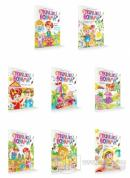 Etkinlik Boyama Kitabı (8 Kitap Set)