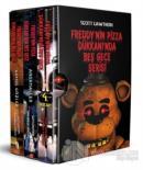 Freddy'nin Pizza Dükkanı'nda Beş Gece Serisi Seti (3 Kitap Takım)