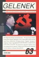 Gelenek Aylık Marksist Dergi Sayı: 63