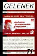Gelenek Aylık Marksist Dergi Sayı: 71