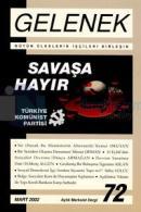 Gelenek Aylık Marksist Dergi Sayı: 72