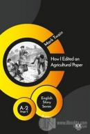 How I Edited an Agricultural Paper - English Story Series