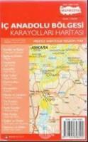 İç Anadolu Bölgesi Karayolları Haritası
