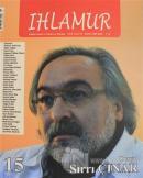 Ihlamur Dergisi Sayı: 15 Sırrı Çınar