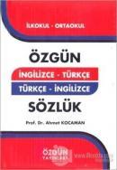 İngilizce - Türkçe Türkçe - İngilizce Sözlük (Ciltli)