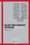 İslami Türk Edebiyatı Metinleri