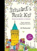 İstanbul'a Renk Kat 20 Kartpostal