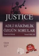 Justice Adli Hakimlik Özgün Sorular Cilt: 2