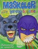 Kahramanlar ve Canavarlar - Maskeler Yaratıcı Boyama