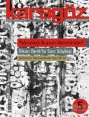 Karagöz Şiir ve Temaşa Dergisi Sayı: 5 Kasım - Aralık 2008