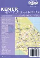 Kemer Kent Planı ve Haritası Kemer City Plan & Map