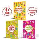Konuşan Etkinlikler Serisi (4+ Yaş) (3 Kitap Takım)