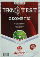 Körfez 10.Sınıf Geometri Tekno Poşet Test Çözüm (DVD'li)
