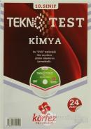 Körfez 10.Sınıf Kimya Tekno Poşet Test Çözüm (DVD'li)