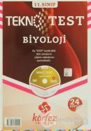 Körfez - 11.Sınıf Biyoloji Tekno Poşet Test Çözüm (DVD'li)