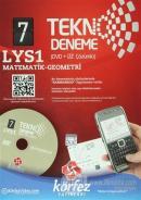 Körfez - LYS 1 Matematik - Geometri Tekno Deneme (DVD + Cep Telefonu Çözümlü)