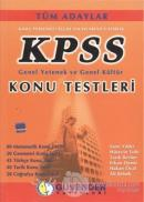 KPSS Genel Yetenek ve Genel Kültür Konu Testleri
