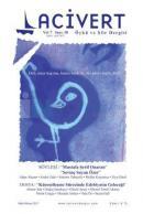 Lacivert Öykü ve Şiir Dergisi Sayı: 38