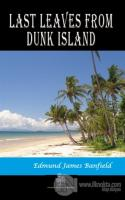 Last Leaves from Dunk Island