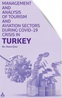 Management and Analysis of Tourism and Aviation Sectors During Covid-19 Crisis in Turkey