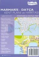 Marmaris - Datça Kent Planı ve Haritası Marmaris & Datça Map