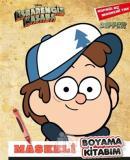 Maskeli Boyama Kitabım Dipper - Esrarengiz Kasaba