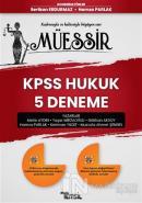 Müessir KPSS Hukuk 5 Deneme