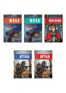 Olimpos Tarihi Roman Seti 5 Kitap Takım