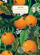 Portakallı Defter (Ciltli)