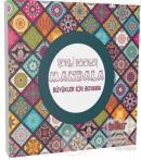 Renkli Desenler Mandala - Büyükler İçin Boyama