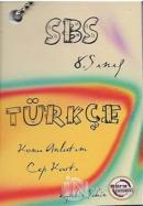 SBS 8. Sınıf Türkçe Konu Anlatım Cep Kartı