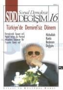 SDD Sosyal Demokrat Değişim  Siyasi ve Kültürel Dergi Sayı: 16
