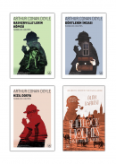 Sherlock Holmes 4 Kitap Takım