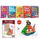 Sihirli Günlük 5 Kitap Takım (Korsan Gemisi 3D Ahşap Maket Hediyeli)