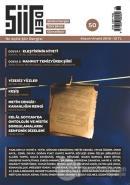 Şiirden İki Aylık Şiir Dergisi Sayı: 50 Kasım - Aralık 2018
