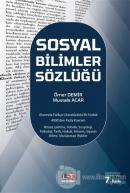 Sosyal Bilimler Sözlüğü (Ciltli)