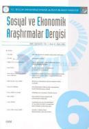 Sosyal ve Ekonomik Araştırmalar DergisiSayı: 6