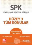 SPK Lisanslama Sınavına Hazırlık - Düzey 3 Tüm Konular