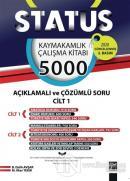 Status Kaymakamlık Çalışma Kitabı 5000 Açıklamalı ve Çözümlü Soru 2 Cilt Takım