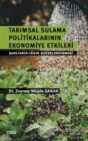 Tarımsal Sulama Politikalarının Ekonomiye Etkileri