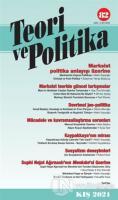 Teori ve Politika Dergisi Sayı: 82 Kış 2021