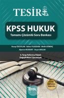 Tesir KPSS Hukuk Tamamı Çözümlü Soru Bankası