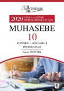 Themis 2020 KPSS A ve Diğer Kurum Sınavları İçin Muhasebe 10 Çözümlü ve Açıklamalı Deneme Sınavı