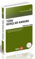 Türk Borçlar Kanunu (Ağustos 2021)