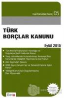 Türk Borçlar Kanunu (Eylül 2015)