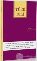 Türk Dili Dergisi Sayı: 819 Mart 2020