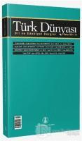 Türk Dünyası Dil ve Edebiyat Dergisi Sayı: 51 Bahar 2021